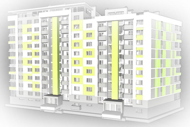 Multi-storeyed residential building